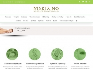Makia in Oslo - professional beauty salon